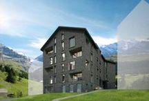 Apartmenthouse Schneefalke / Das Apartmenthaus Schneefalke entsteht in Zusammenarbeit mit Swiss Property. Baustart: Oktober 2015