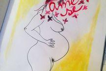 Watercolors :: Lettering :: HandLettering