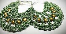 I'mperfect / Bijoux lavorati all'uncinetto e in alluminio. Crochet, macramè and wire