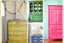 DIY - FURNITURE / Amazing, easy and affordable ways to give your FURNITURE a new look!