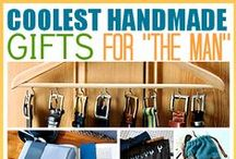 HANDMADE GIFTS FOR MEN / great ideas for him...