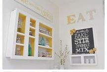 Home Decor - KITCHENS / ...where the heart of the home is.
