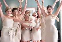 Bridesmaids / Bridesmaid's dresses and things to share with your special girls