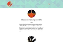 Blog UIs / A collection of blogs with great layouts and typos.