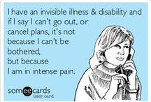 """It's All In My Head / Chronic pain, depression, anxiety, migraine, epilepsy, and fibromyalgia: issues that keep my body in pain, my mind in torment, and cause the uninformed to say """"It's all in your head."""""""