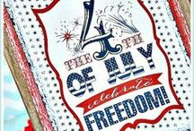 Holidays - FOURTH OF JULY / ...celebrate your freedom!