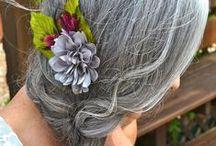 Gray is the new Blonde / gray hair, silver hair, capelli grigi ispirazioni...