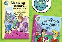 Fairytales, Nursery Rhymes and Classic Tales with a Twist / Classic stories, fairytales and nursery rhymes return in these exciting titles!  From jumbled fairytales to nursery rhymes with a twist, you'll be sure to find a story everyone will enjoy.
