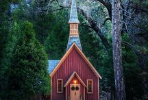 God's Houses of Faith & Prayer / by Kate Marie Keever