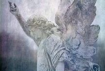 Angels who Walk Among Us / Angels that watch over me and protect me, as guided by Jesus. / by Kate Marie Keever