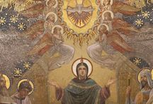 The Holy Spirit at Pentecost / And Jesus breathed on them and filled them with the Holy Spirit, just as He does for us today.  The Advocate lives within me leading and guiding me in the path of Jesus. / by Kate Marie Keever
