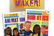 Makerspace / Creative books to get your makerspace up and running!