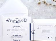 Wedding + Event Stationery / Invitations + stationery inspiration for weddings + events.