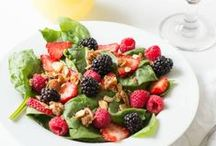 Shared Berry Recipes / There is nothing like friends who share the love of berries.   This is a special collection of yummy berry recipes from our best berry friends. Let's give a cheer for Driscoll's strawberries, blueberries, raspberries and blackberries.