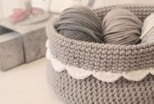 CROCHET | Homewares / While my true love of crochet is with blankets, I can't help but admire so many lovely homewares and (some) attire. These are the sorts of things I'd give a go if I need a break from blankets!
