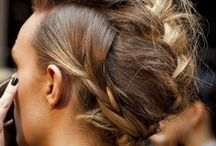 HAIR | Inspiration / A good 'do can make your outfit. I tend to go for a messier look; here is what I find gorgeous.