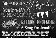 DESIGN | Tools / A collection of free fonts and free online tools to modify images quickly and easily. Great for personal blogs and craft around the house.