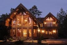 Log Homes !!!!! My Dream
