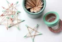 CRAFT | Christmas / I'm not one for over the top Christmas decorations. Nor can I justify spending so much money on them. So here's a selection of fun and simple Christmas crafts you can make in a flash!