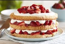The Joy of Strawberry Shortcake / Did you know that Driscoll's has been the strawberry in your shortcake for more than 100 years?  Celebrate National Strawberry Shortcake Day with us on June 14th (and why not all month) with these yummy recipes! / by Driscoll's Berries