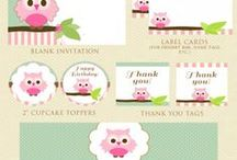 Printable Party Kits / by Paula Tiscornia