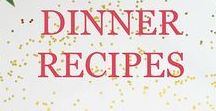 Dinner Recipes / Focuses on delicious dinner recipes and ideas for your family with many that are healthy, easy, quick, and cheap.