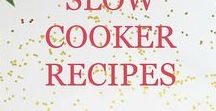 Slow Cooker Recipes / Focuses on delicious recipes made easy by cooking the the slow cooker.