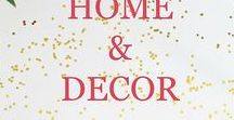 Home Decor Ideas / Focuses on decor and decorating ideas, tips, and hacks for your home, bedroom, kids room, bathroom, kitchen, basement, playroom, office and more.