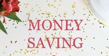 Money Saving, Earning, Goals & More / Focuses on money saving tips, money saving advice, money saving tricks, budgeting, financial freedom, finance peace, debt free, and financial goals with posts, articles, and quotes.