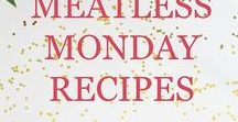 Meatless Monday Meals / Focuses on delicious recipes and ideas for meatless meals including both vegan and vegetarian with appetizers, sides, lunch, dinner, and more.