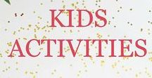 Kids Crafts, Activities & More / Focuses on all things kids. Including crafts, activities, fun, art, DIY, and more.