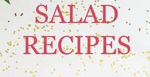 Salad Recipes / Focuses on salad and salad dressing recipes and ideas that are healthy and delicious.