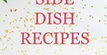 Side Dishes / Focuses on side dish recipes and ideas with many that are easy, healthy, for dinner, holidays, and more.
