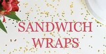 Sandwiches, Wraps & More / Focuses on delicious recipes and ideas for sandwiches, wraps, burgers, and more with many that are healthy and can be eaten for lunch or for dinner.