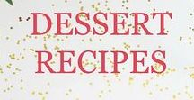 Dessert Recipes, Sweets & more! / Focuses on yummy dessert recipes and ideas with many the are no bake, quick, for parties, for celebrations, and some healthy.
