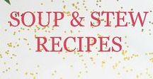 Soup & Stew Recipes / Focuses on delicious soup, stew, and chili recipes for the family with many that are healthy, easy, quick, filling, and can be made in the slow cooker.