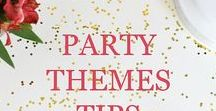 Party Ideas, Themes, Tips & More / Focuses on party ideas, planning, party themes, decorations, food, and drinks for birthdays, baby showers, graduations, and more.