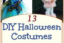 Kids DIY Halloween Costumes / Give your old items a whole new use with these savvy DIY tips!
