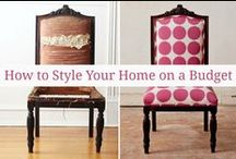 Home Decor / Featuring tips on how to decor your home on a budget and with style. Home decor inspiration.