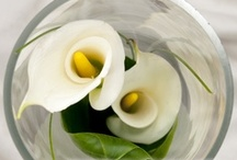 Simple Flower Centerpieces / Sometimes few flower stems can make a bigger impact.  Check out these sweet and simple ideas that can give you a classy and unique look perfect for your big event.