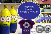 Minion DIY Projects / Top Ten Minion Crafts For Kids