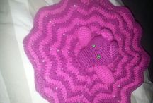 Breiwerkjes / haakprojecten / #Knitting #knitten #breien #haken #crochet