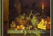 Still life with fruit paintings Натюрморты / Работы художников