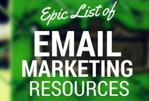 Email Strategies / Every entrepreneur expert that I follow, say focus on your list.  Here's where I will pin great email marketing strategies.  I highly suggest you make building your list a priority:)   / by Darla Kirchner