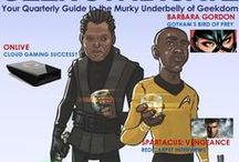 Geek Syndicate Magazine / Check out our Quarterly Magazine.