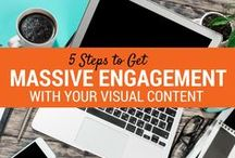 Visual Content Strategy / Creating great visual content for your biz is imperative to get noticed online!  Here's where I will add some great visual content and images strategies.  Want to learn more?  Sign up to join our community:)  / by Darla Kirchner