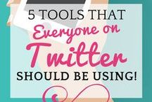 Twitter Strategies / Creative Twitter strategies, tips and tools for busy entrepreneurs.  / by Darla Kirchner