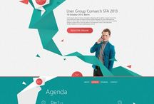 Cool & Trendy Webdesigns / Im gonna share here every webdesign I find interesting here on pntrst :)