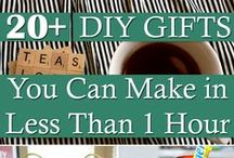 Giftspiration / Gift ideas and some inspiration to keep you going.