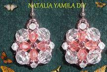 MIS CREACIONES / MY BIJOU / My proyects.TODO TIENE SU TUTORIAL EN LA PÁGINA http://www.facebook.com/NataliaYamilaDIY   Bijou bisutería jewellry jewellery / by Natalia Yamila DIY